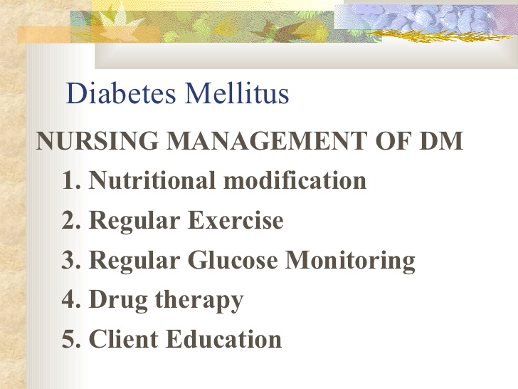 Photo of A Nurse Is Caring For A Client Who Has Diabetes Mellitus And Is Taking Glyburide